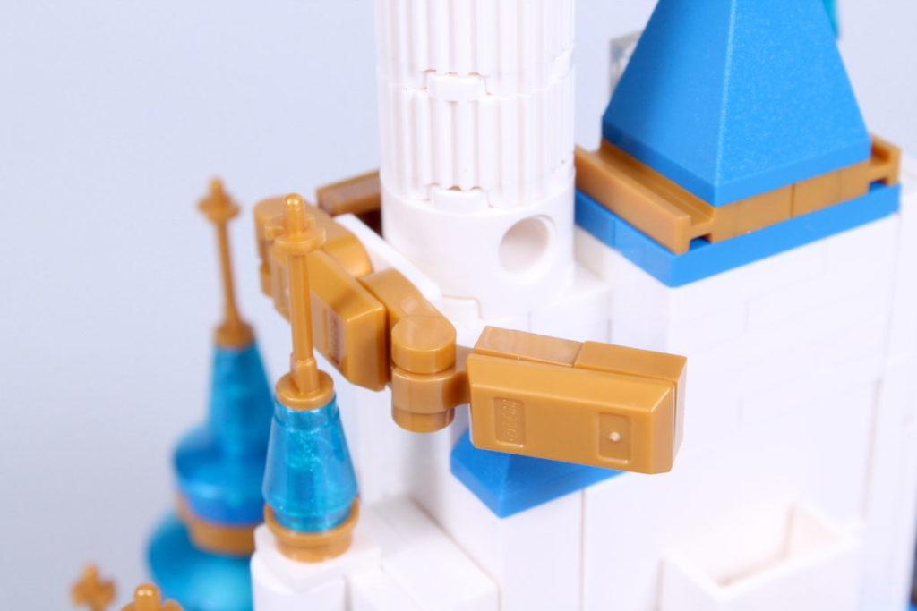 LEGO Disney 40478 Mini Disney Castle review 22