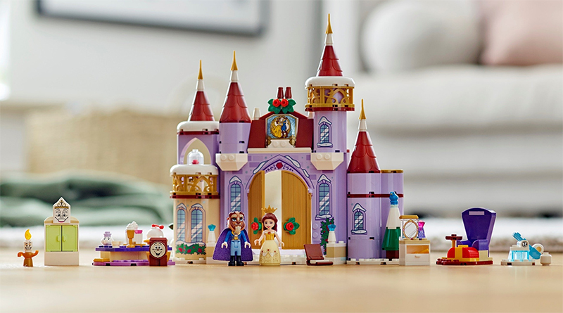 LEGO Disney 41380 Belles Castle Winter Celebration Featured