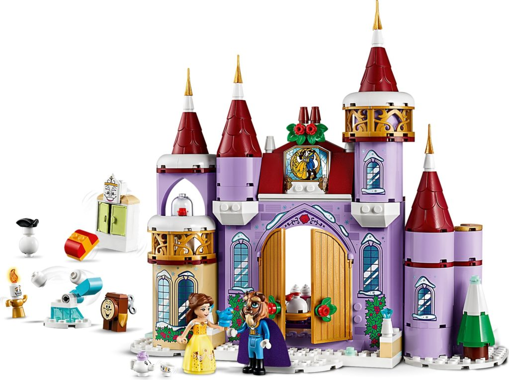 LEGO Disney 41380 Belles Castle Winter Celebration