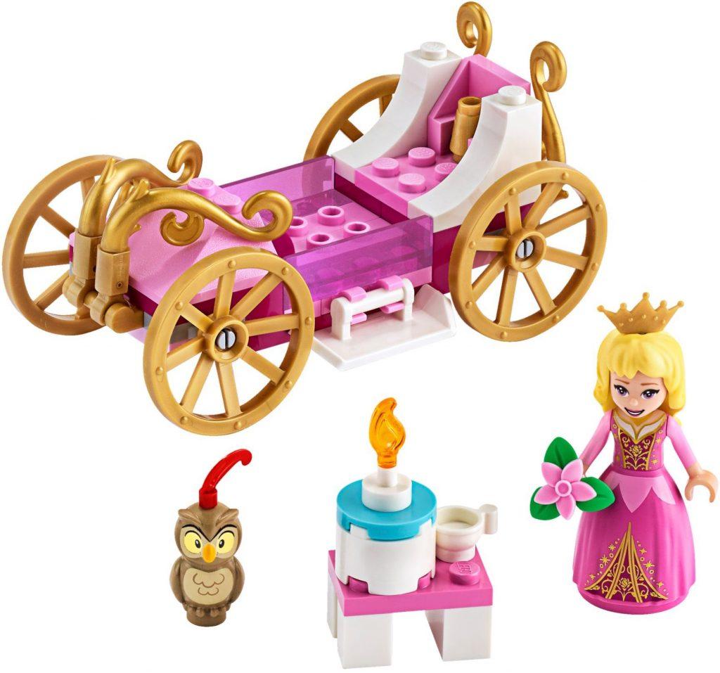LEGO Disney 43173 Auroras Royal Carriage