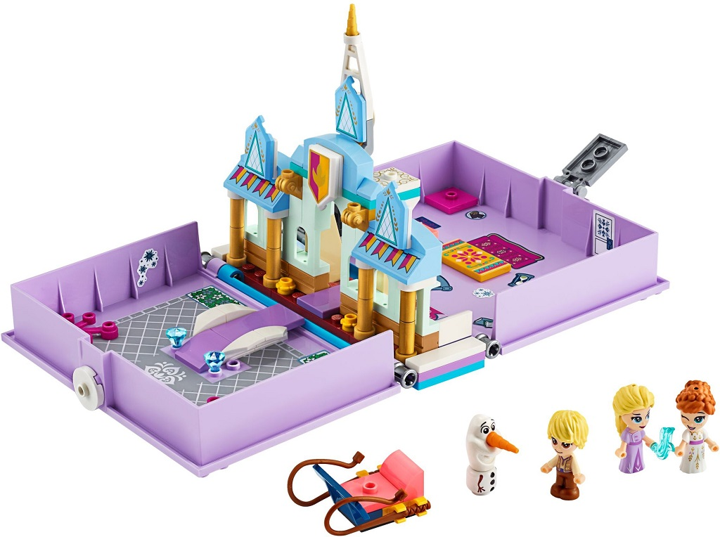 LEGO Disney 43175 Anna And Elsas Storybook Adventures 1