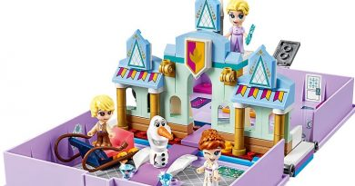 LEGO Disney 43175 Anna and Elsa Storybook Adventures