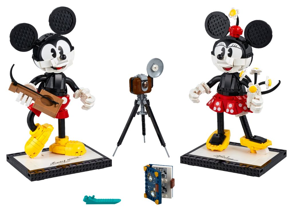 LEGO Disney 43179 Mickey Mouse and Minnie Mouse Buildable Characters 11