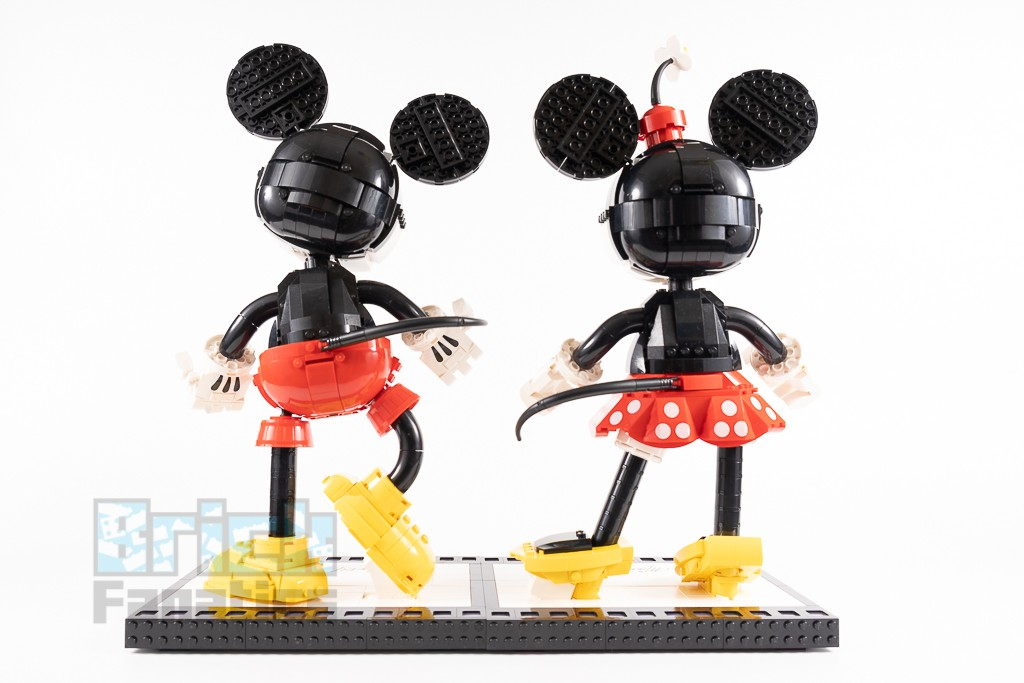 LEGO Disney 43179 Mickey Mouse And Minnie Mouse Buildable Characters 13 1