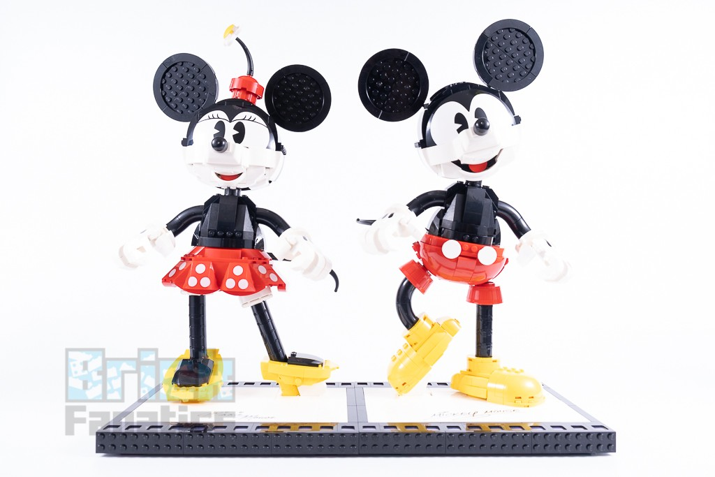 LEGO Disney 43179 Mickey Mouse And Minnie Mouse Buildable Characters 14 1