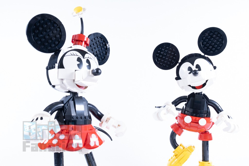 LEGO Disney 43179 Mickey Mouse And Minnie Mouse Buildable Characters 16 1