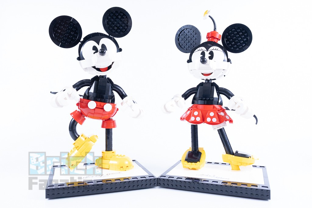 LEGO Disney 43179 Mickey Mouse And Minnie Mouse Buildable Characters 17 1
