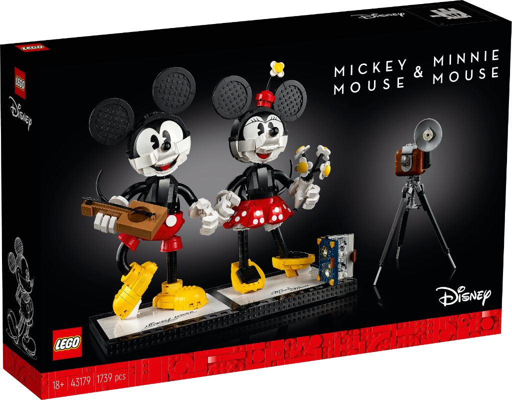 LEGO Disney 43179 Mickey Mouse And Minnie Mouse Buildable Characters 17