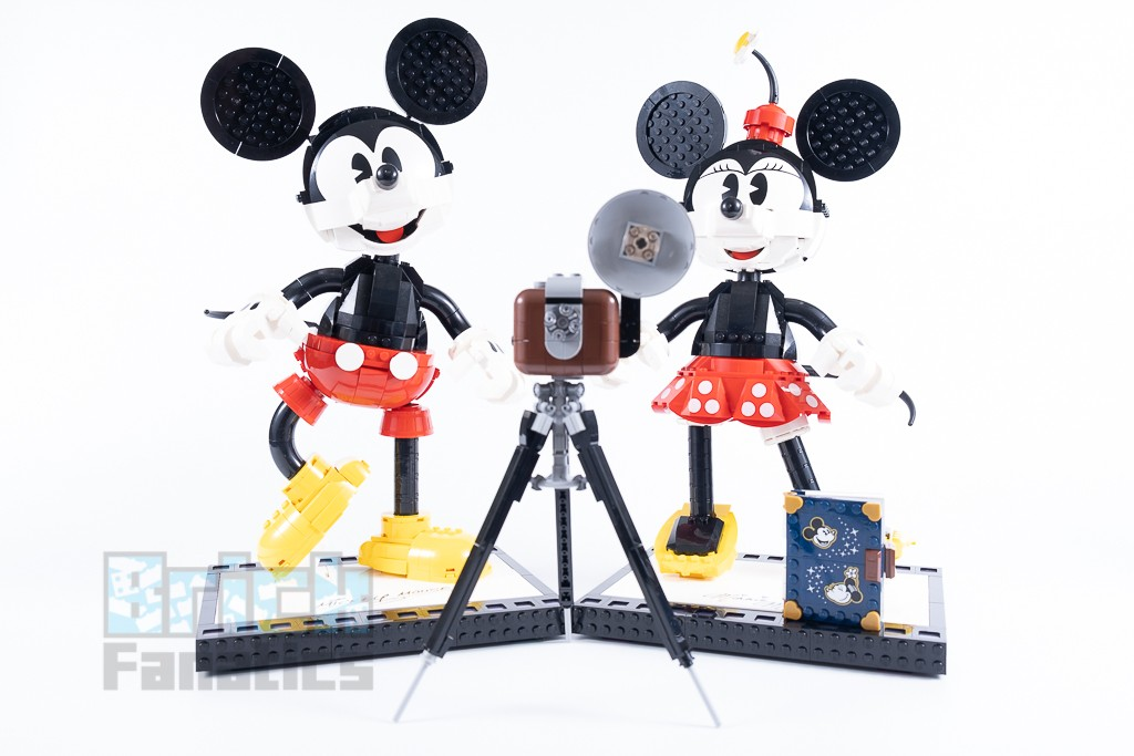 LEGO Disney 43179 Mickey Mouse And Minnie Mouse Buildable Characters 18 1