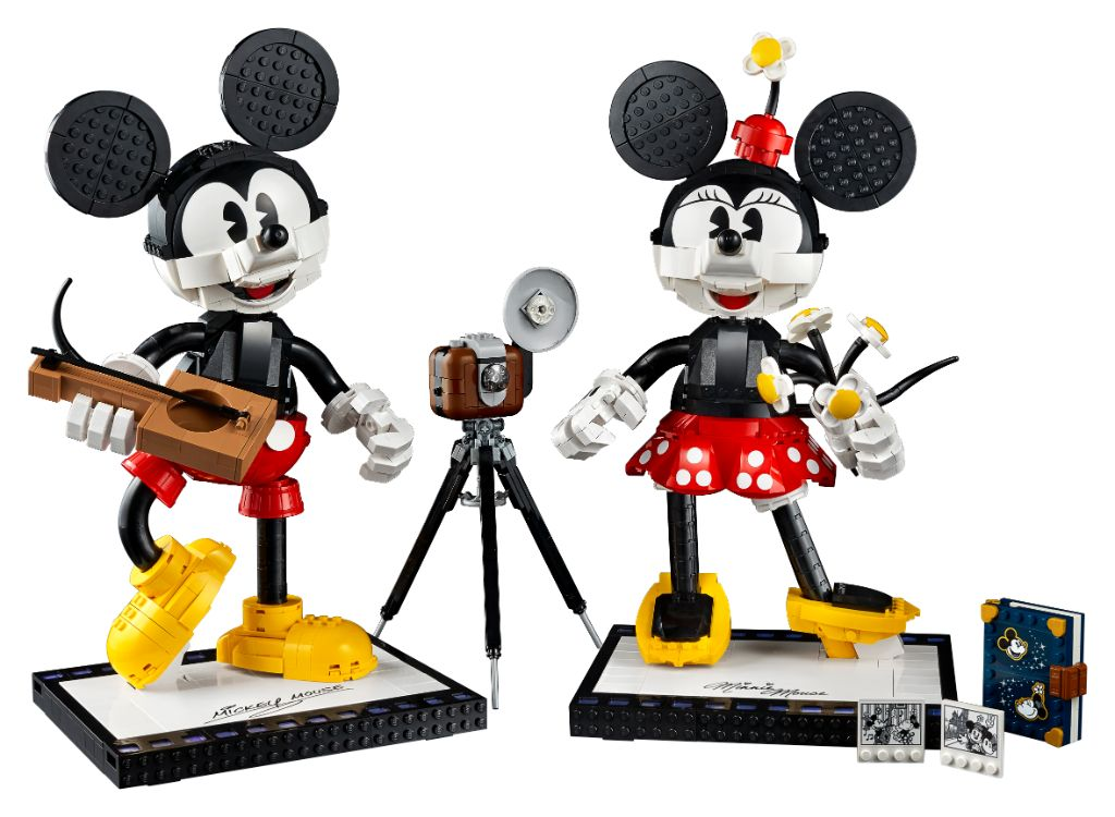 LEGO Disney 43179 Mickey Mouse And Minnie Mouse Buildable Characters 2