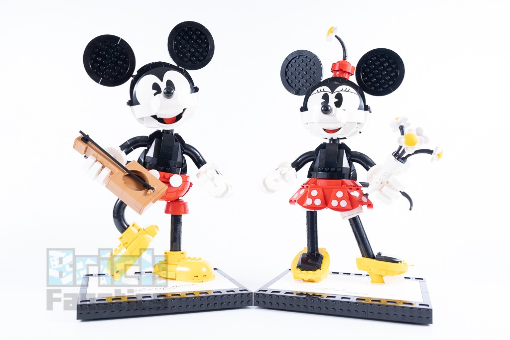 LEGO Disney 43179 Mickey Mouse And Minnie Mouse Buildable Characters 20 1