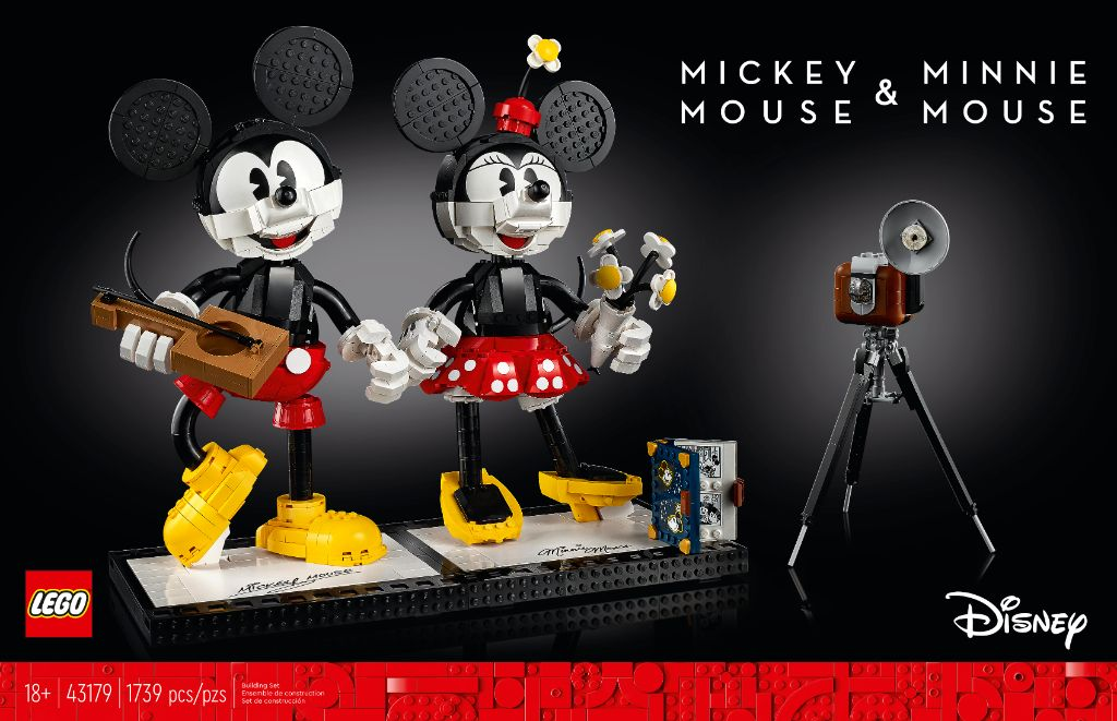 LEGO Disney 43179 Mickey Mouse And Minnie Mouse Buildable Characters 22
