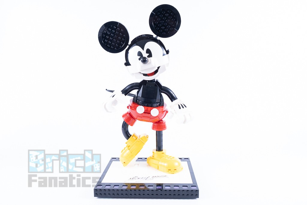 LEGO Disney 43179 Mickey Mouse And Minnie Mouse Buildable Characters 26 1