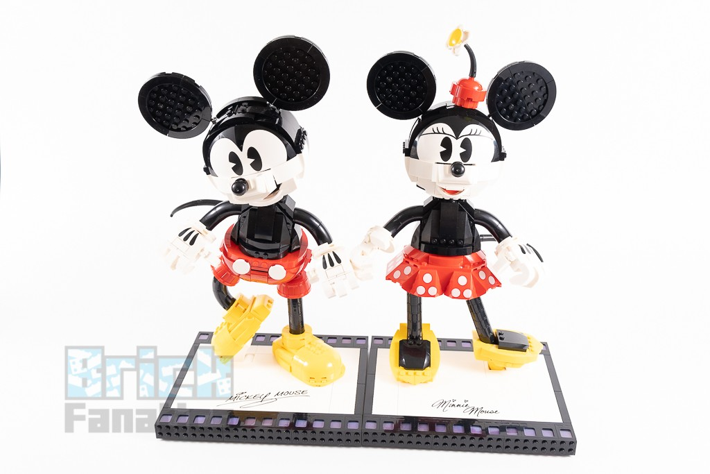 LEGO Disney 43179 Mickey Mouse And Minnie Mouse Buildable Characters 3 1