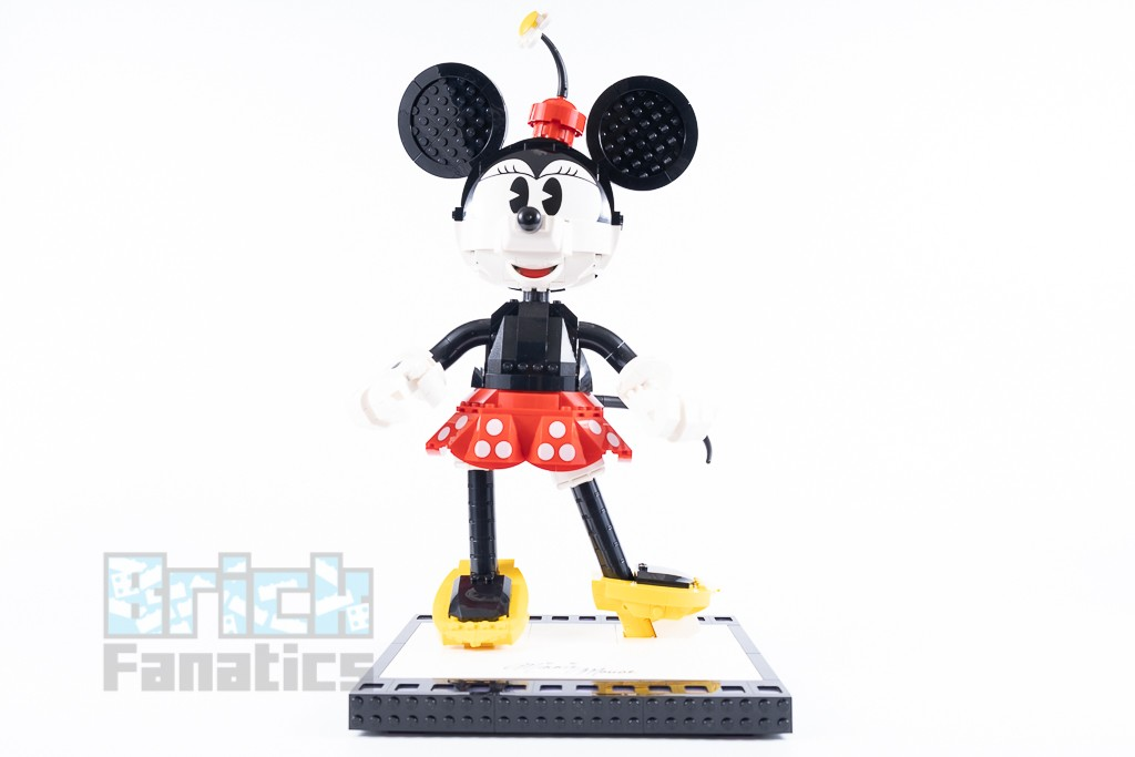 LEGO Disney 43179 Mickey Mouse And Minnie Mouse Buildable Characters 30 1
