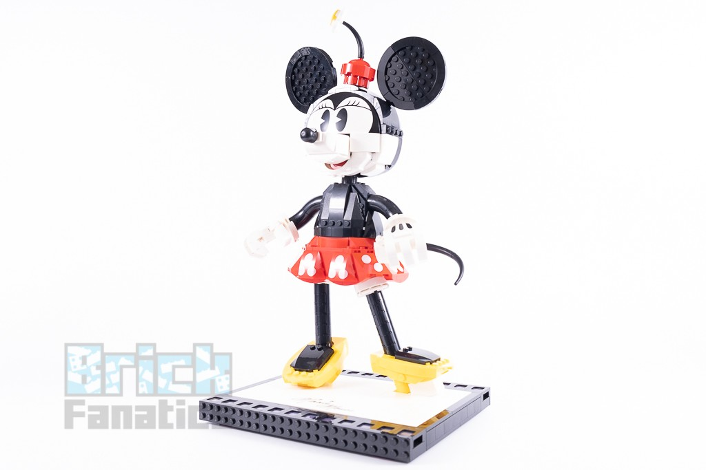 LEGO Disney 43179 Mickey Mouse And Minnie Mouse Buildable Characters 34 1