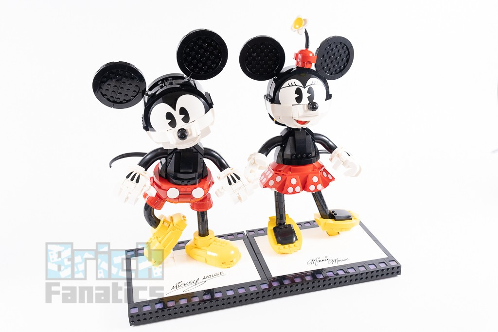 LEGO Disney 43179 Mickey Mouse And Minnie Mouse Buildable Characters 4 1