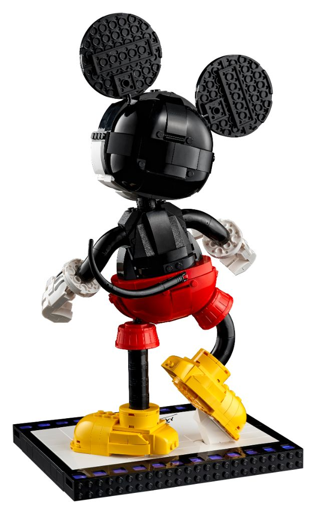LEGO Disney 43179 Mickey Mouse And Minnie Mouse Buildable Characters 6