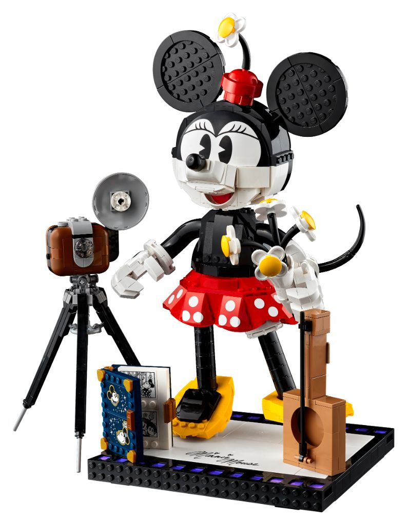LEGO Disney 43179 Mickey Mouse And Minnie Mouse Buildable Characters 7