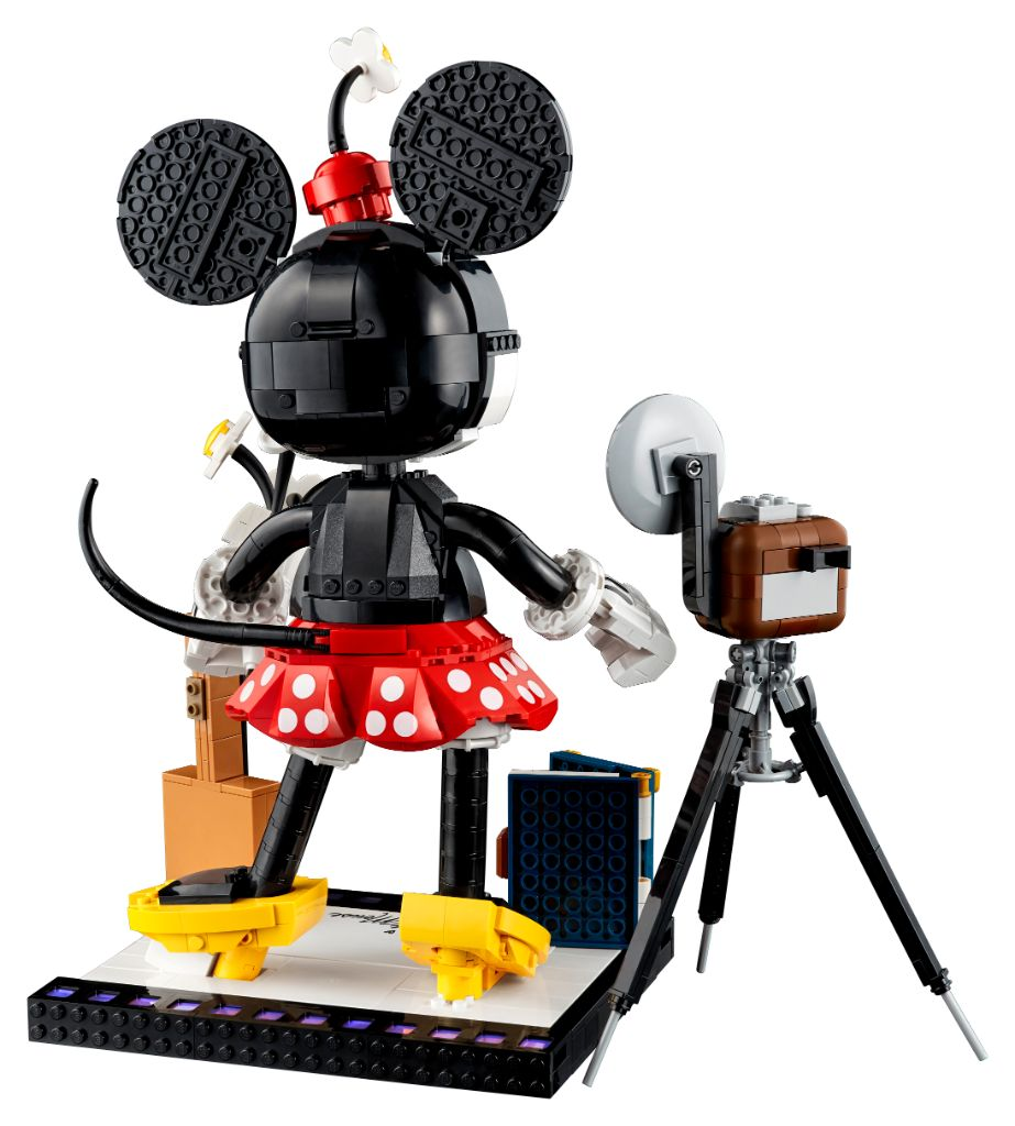 LEGO Disney 43179 Mickey Mouse and Minnie Mouse Buildable Characters 8