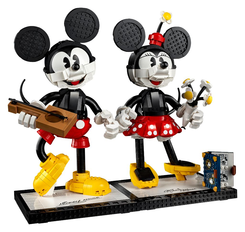 LEGO Disney 43179 Mickey Mouse And Minnie Mouse Buildable Characters 9