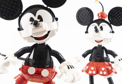 LEGO Disney 43179 Mickey Mouse & Minnie Mouse Buildable Characters review