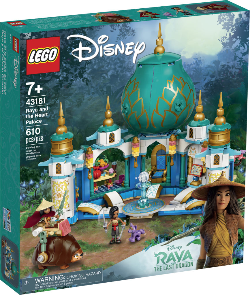 LEGO Disney 43181 Raya And The Heart Palace 1