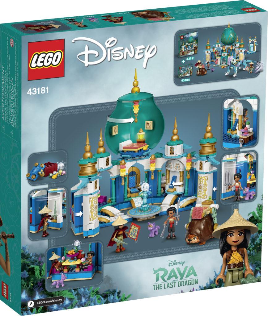 LEGO Disney 43181 Raya And The Heart Palace 2