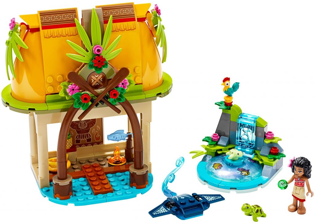 LEGO Disney 43183 Moanas Island Home