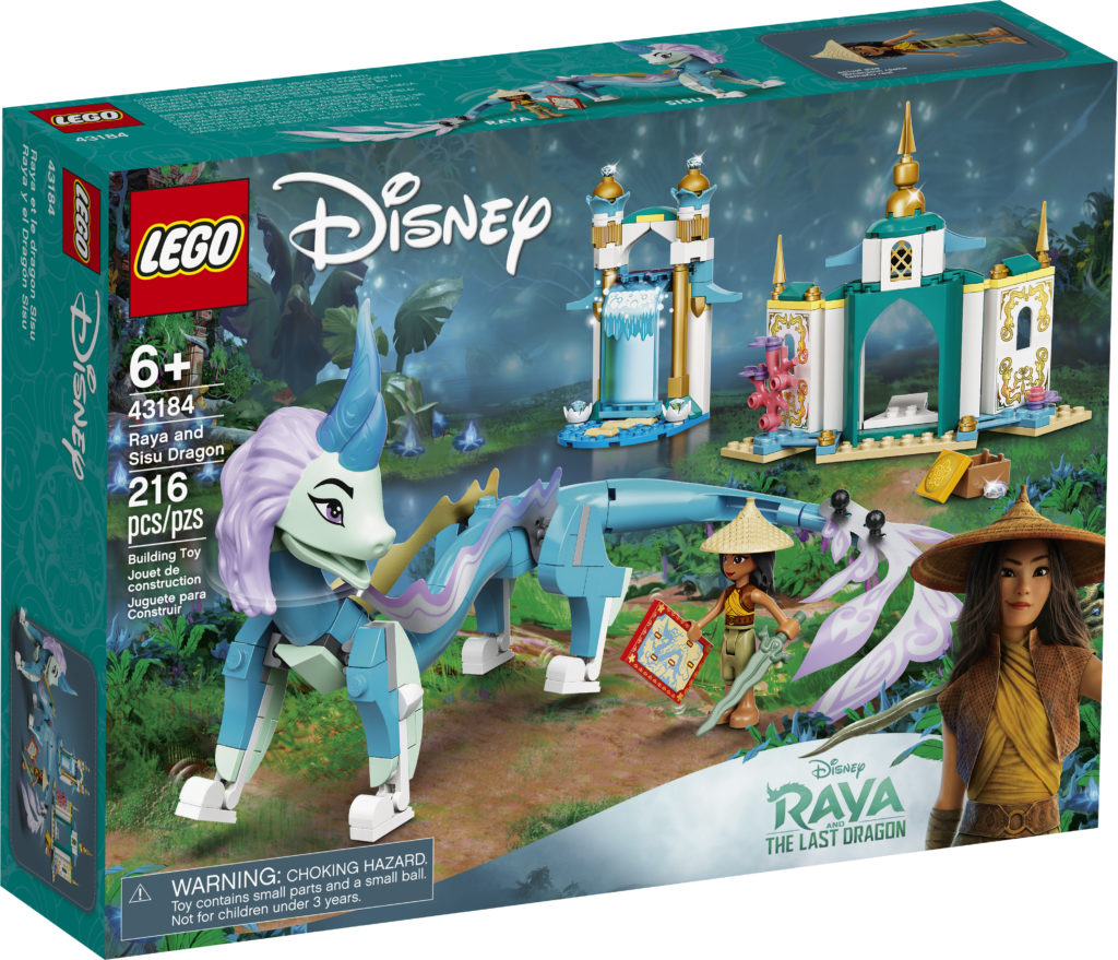 LEGO Disney 43184 Raya And Sisu Dragon 1