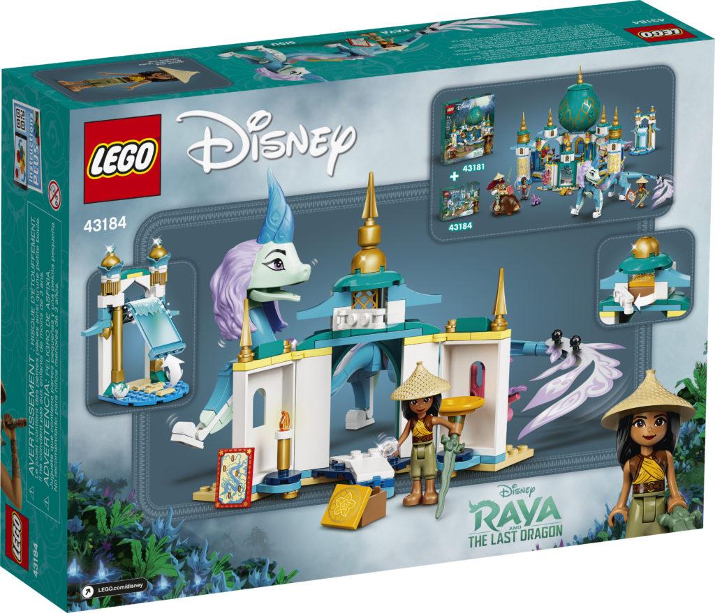 LEGO Disney 43184 Raya And Sisu Dragon 2