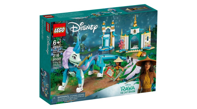 LEGO Disney 43184 Raya And Sisu Dragon Featured