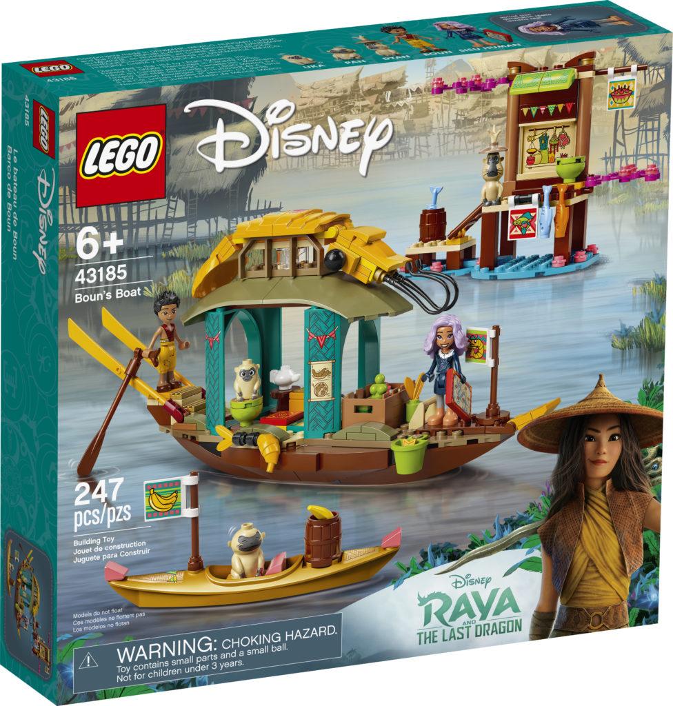 LEGO Disney 43185 Bouns Boat 1