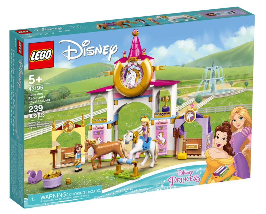 LEGO Disney 43195 Belle and Rapunzels Royal Stables
