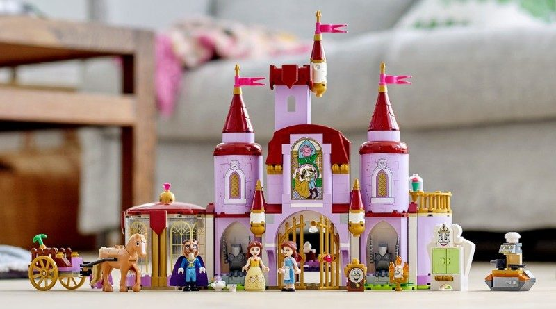 LEGO Disney 43196 Belle and the Beasts Castle featured 1