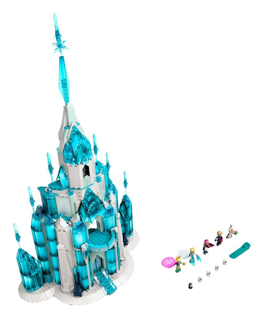 LEGO Disney 43197 The Ice Castle 3