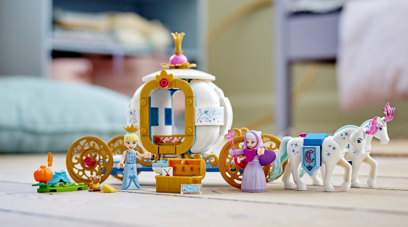LEGO Disney Cinderellas Royal Carriage Featured 800x445