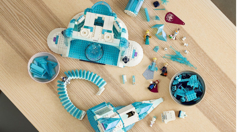 LEGO Disney Frozen 43197 The Ice Castle lifestyle 2 featured