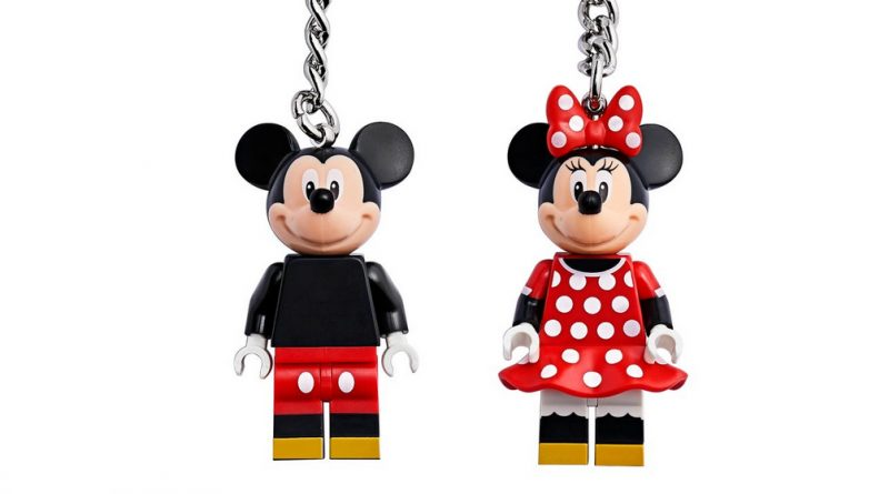 LEGO Disney Mickey Minnie Key Rings Featured 800 445 800x445