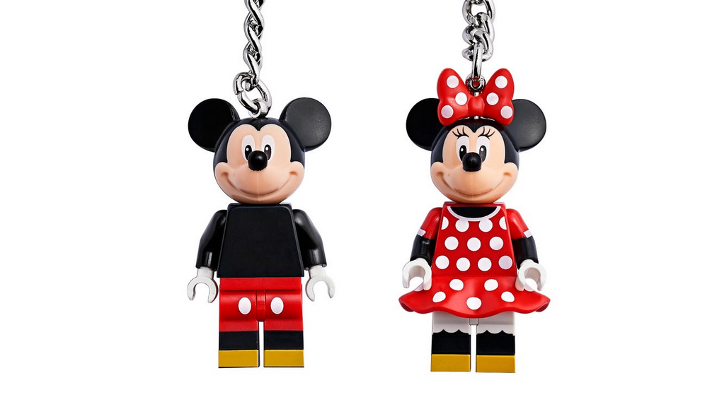 LEGO Disney Mickey Minnie Key Rings Featured 800 445