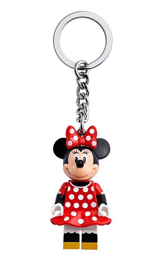 LEGO Disney Minnie Mouse Key Chain