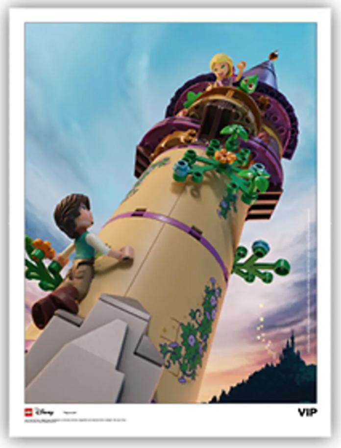 LEGO Disney princess 5007119 VIP art