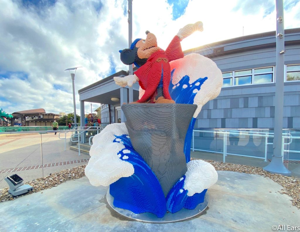 LEGO Disney springs store mickey mouse allears