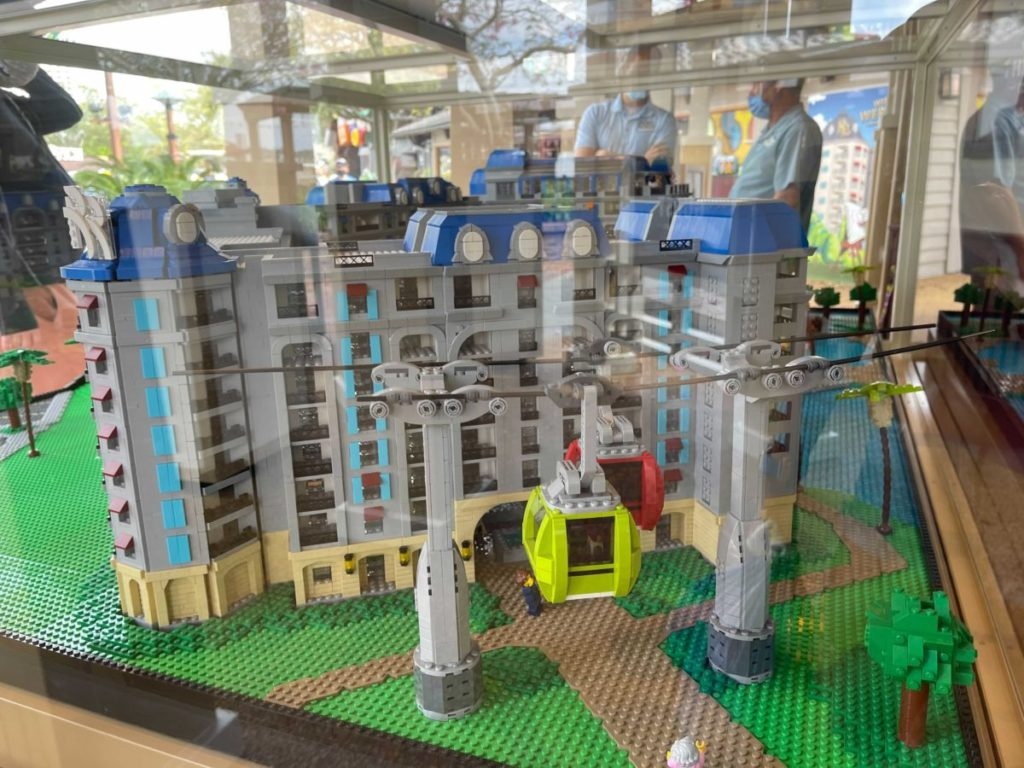LEGO Disney World Riviera Resort Skyliner