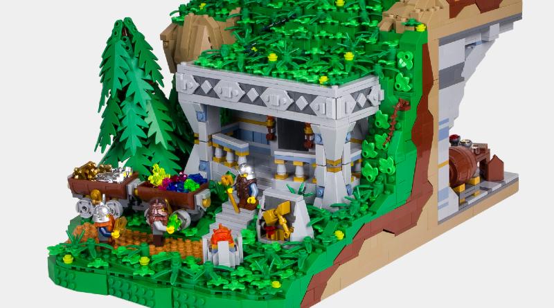 LEGO Dwarven Jewelcrafter Flickr Featured