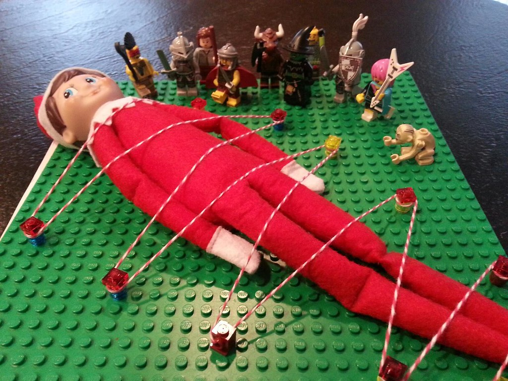 LEGO Elf Not Shelf