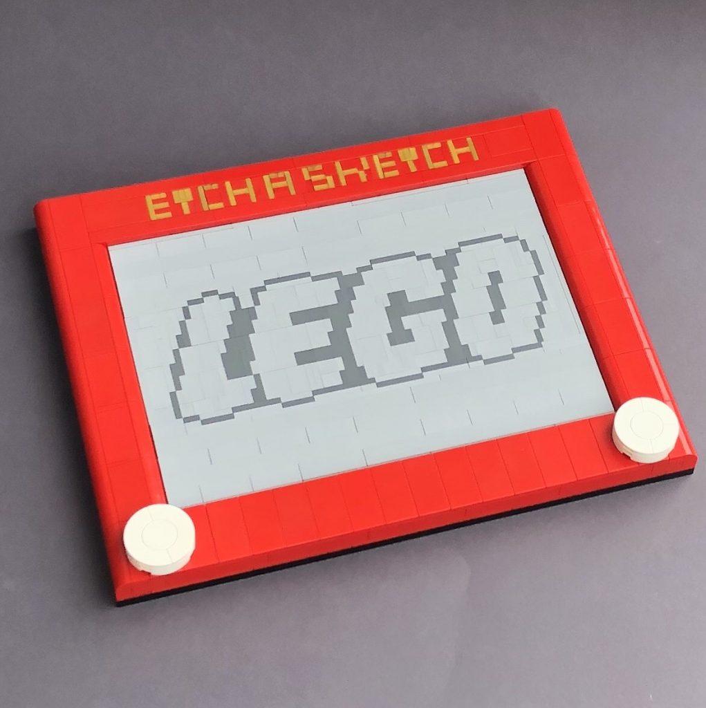 LEGO Etch A Sketch 1021x1024