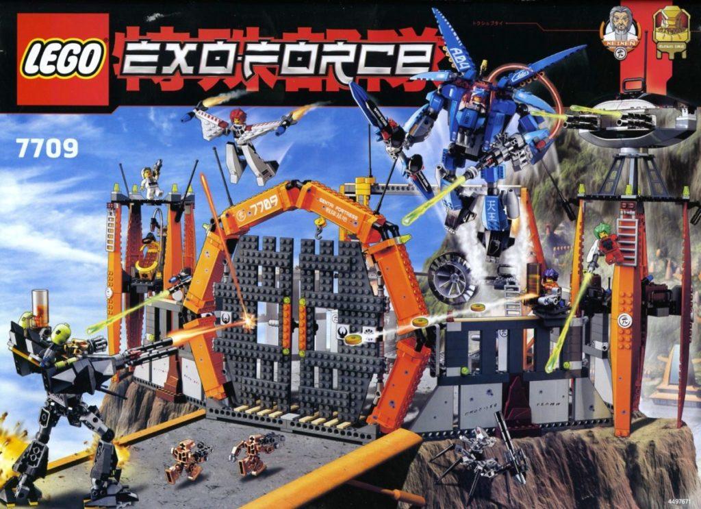 LEGO Exo Force 7709 Sentai Fortress