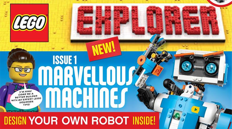 LEGO Explorer Featured