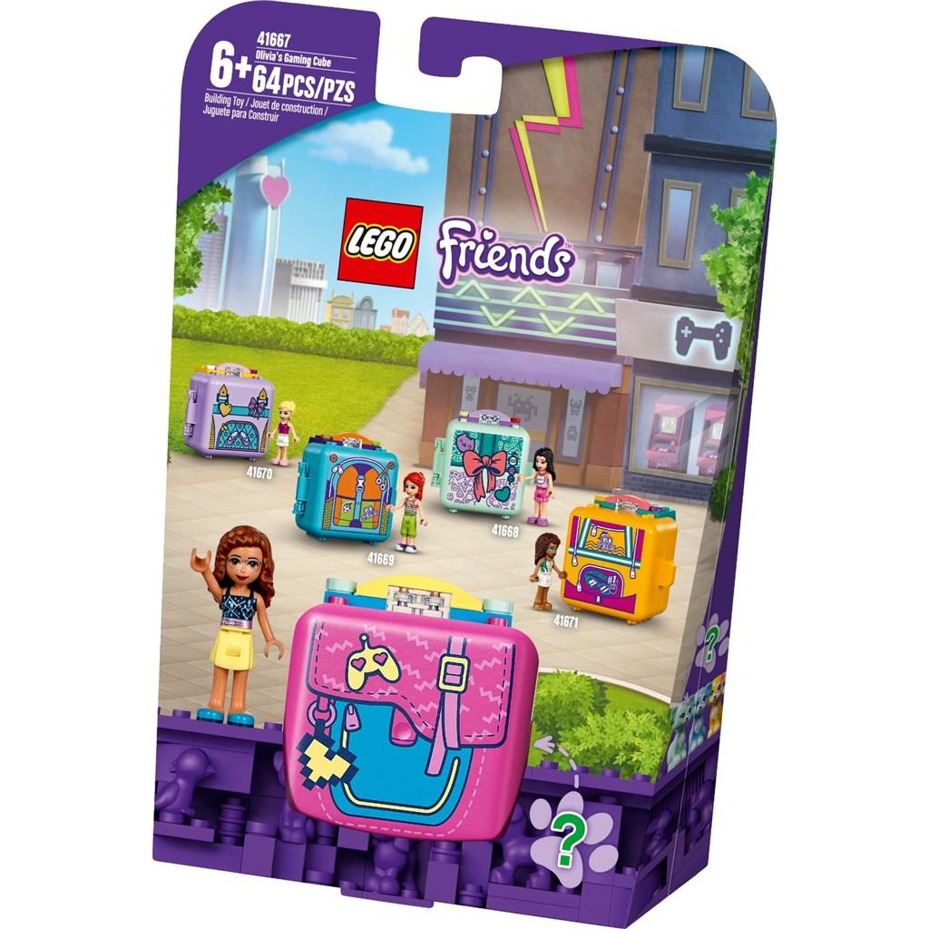 LEGO FRIENDS 41667 OLIVIAS GAMING CUBE 1 1024x1024